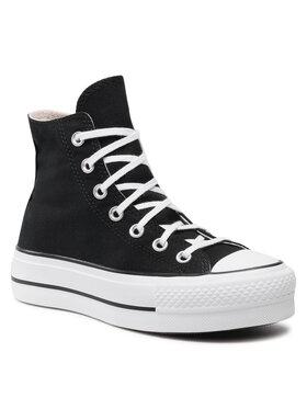Converse Converse Sneakers aus Stoff Ctas Lift Hi 560845C Schwarz