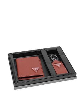 Guess Guess Подаръчен комплект Certosa Slg GIF095 LEA22 Кафяв