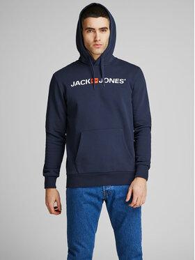 Jack&Jones Jack&Jones Pulóver Corp Old Logo 12137054 Sötétkék Regular Fit