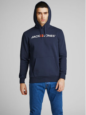 Jack&Jones Jack&Jones Суитшърт Corp Old Logo 12137054 Тъмносин Regular Fit