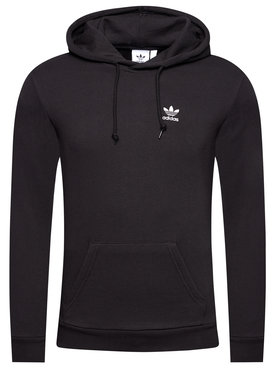 adidas adidas Bluză Essential Hoody FM9956 Negru Standard Fit