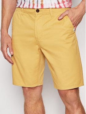 Quiksilver Quiksilver Шорти от плат Everyday Chino EQYWS03468 Жълт Straight Fit