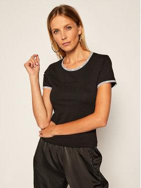 Calvin Klein Jeans Calvin Klein Jeans T-shirt Logo Trim J20J214227 Noir Regular Fit