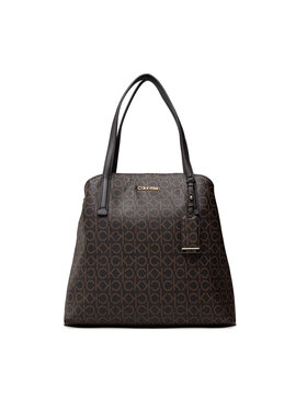 Calvin Klein Calvin Klein Táska Must Shoulder Bag Md Mono K60K608571 Barna