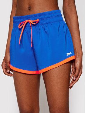 Reebok Reebok Sportiniai šortai Workout Ready GI6872 Mėlyna Regular Fit