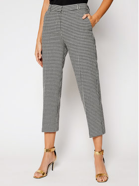 Pinko Pinko Pantaloni din material UNIQUENESS Sullivan 20211 UNQS 1Q1079 8406 Colorat Regular Fit