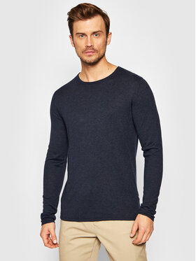 Selected Homme Selected Homme Megztinis Rome 16079774 Tamsiai mėlyna Regular Fit