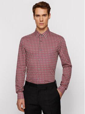 Boss Boss Marškiniai Isko 50451492 Spalvota Slim Fit