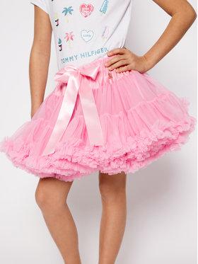 LaVashka LaVashka Spódnica 15-B Różowy Regular Fit