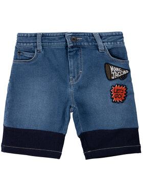 Little Marc Jacobs Little Marc Jacobs Džínsové šortky W24211 Tmavomodrá Regular Fit