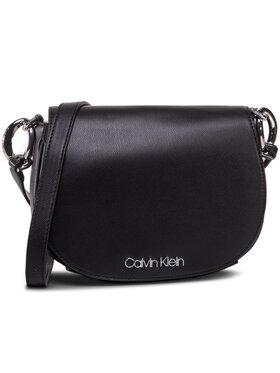 Calvin Klein Calvin Klein Kabelka Ck Chain Saddle Bag K60K606686 Černá