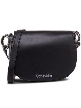 Calvin Klein Calvin Klein Kabelka Ck Chain Saddle Bag K60K606686 Čierna