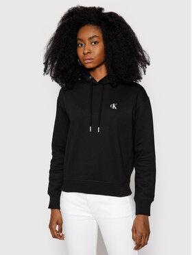 Calvin Klein Jeans Calvin Klein Jeans Bluză Embroidered Logo J20J213178 Negru Regular Fit