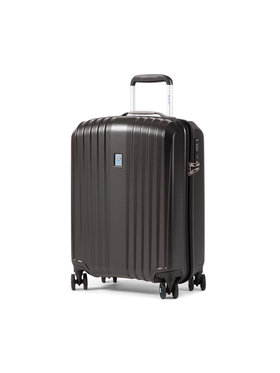 Dielle Dielle Kis kemény borítású bőrönd 120/55 Fekete