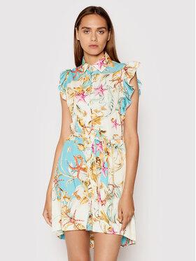 Rinascimento Rinascimento Sukienka letnia CFC0017933002 Niebieski Regular Fit