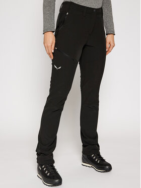 Salewa Salewa Outdoor панталони Puez Dolomitic Reg Pnt 27230 Черен Regular Fit