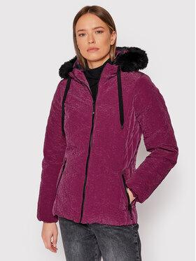 Desigual Desigual Daunenjacke Snow 21WWEW01 Violett Regular Fit