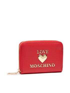 LOVE MOSCHINO LOVE MOSCHINO Maža Moteriška Piniginė JC5621PP1DLF0500 Raudona