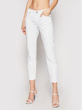 Marc O'Polo Marc O'Polo Spodnie materiałowe 103 0475 11043 Biały Slim Fit