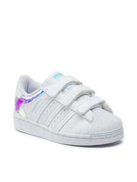 adidas adidas Scarpe Superstar Cf C H03950 Bianco