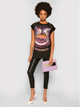 Pinko Pinko T-Shirt Gerolamo AI 20-21 BLK01 1G15BG Y5BD Czarny Regular Fit