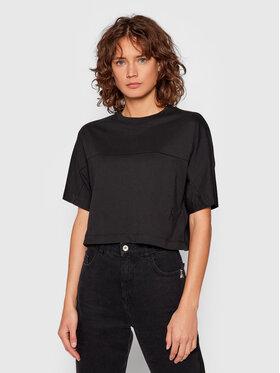 Calvin Klein Jeans Calvin Klein Jeans Póló J20J215641 Fekete Boxy Fit