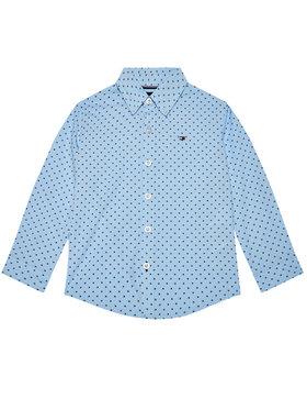 TOMMY HILFIGER TOMMY HILFIGER Camicia Mini Flag KB0KB06181 M Blu Regular Fit