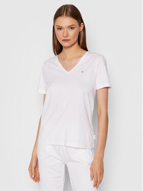 Calvin Klein Calvin Klein T-Shirt Small Logo K20K203085 Bílá Regular Fit