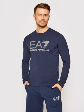 EA7 Emporio Armani EA7 Emporio Armani Marškinėliai ilgomis rankovėmis 3KPT64 PJ03Z 1554 Tamsiai mėlyna Regular Fit