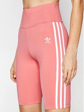 adidas adidas Szorty sportowe adicolor Classics GN2922 Różowy Tight Fit
