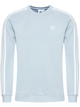 adidas adidas Felpa 3-Stripes Crew GN3480 Blu Regular Fit