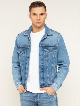 Pepe Jeans Pepe Jeans Kurtka jeansowa Pinner PM400908WG5 Granatowy Regular Fit