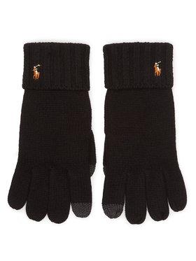 Polo Ralph Lauren Polo Ralph Lauren Pánské rukavice Signature Merino 449777692001 Černá