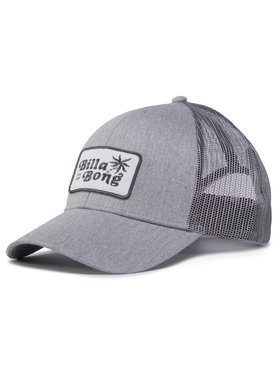 Billabong Billabong Καπέλο Jockey Walled Trucker U5CT08BIF0 Γκρι