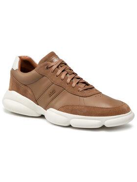 Boss Boss Sneakersy Rapid 50454970 10222004 01 Brązowy