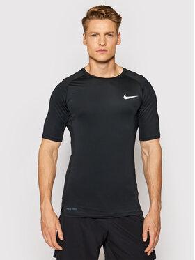 Nike Nike Тениска от техническо трико Pro BV5631 Черен Tight Fit