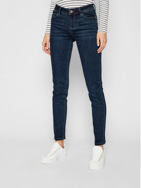 Morgan Morgan Slim Fit Jeans 201-POM.P Dunkelblau Slim Fit