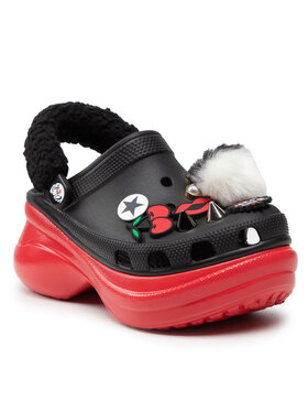 Crocs Crocs Шльопанці Classic Cruella Beaw 207400 Чорний