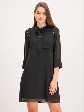 My Twin My Twin Sukienka koszulowa 192MP2480 Czarny Regular Fit