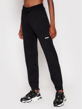 MSGM MSGM Teplákové kalhoty 2000MDP500 200001 Černá Regular Fit