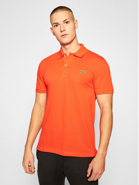 Lacoste Lacoste Tricou polo PH4012 Portocaliu Slim Fit