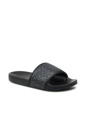 Calvin Klein Jeans Calvin Klein Jeans Papucs Pool Slide Mono HW0HW00557 Fekete