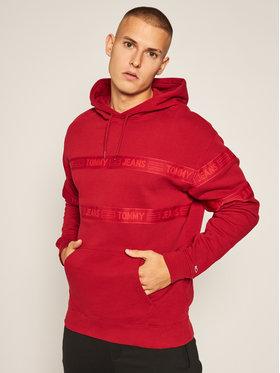 Tommy Jeans Tommy Jeans Mikina DW0DW08410 Červená Regular Fit