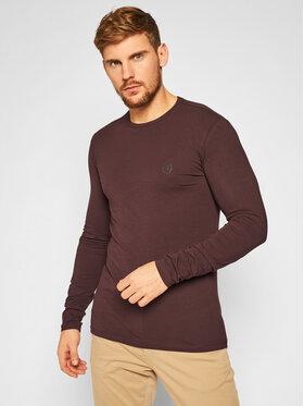 Trussardi Jeans Trussardi Jeans Longsleeve 52T00376 Brązowy Slim Fit