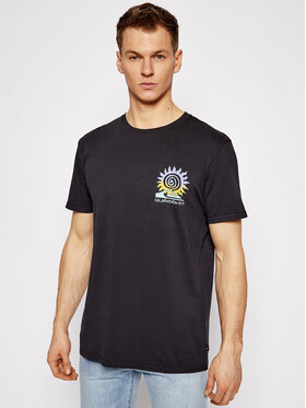 Quiksilver Quiksilver T-Shirt Island Pulse EQYZT06350 Černá Regular Fit