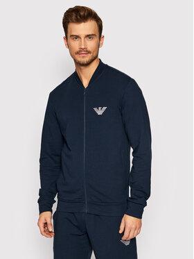 Emporio Armani Underwear Emporio Armani Underwear Bluza 111738 1A575 00135 Granatowy Regular Fit