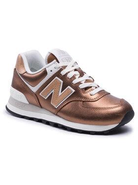 New Balance New Balance Sneakersy WL574PT2 Brązowy