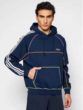 adidas adidas Sweatshirt Contrast Stitch GN3893 Dunkelblau Regular Fit