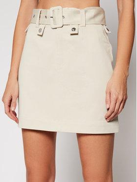 Guess Guess Džínová sukně Randi W1RD71 WDOK0 Béžová Slim Fit