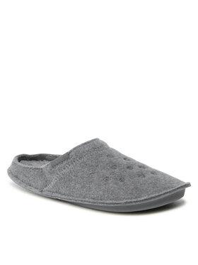 Crocs Crocs Kapcie Classic Slipper 203600 Szary